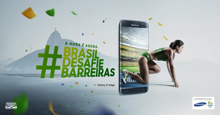 Samsung lanza un celular edición especial por Río 2016