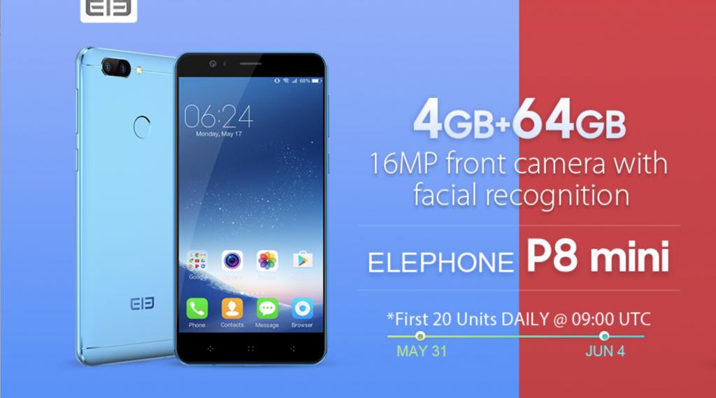 77ad3f8aa12 Si están buscando un celular, este puede ser el momento ideal, Gearbest  está lanzando varias ofertas en sus celulares de la compañía Elephone, ...